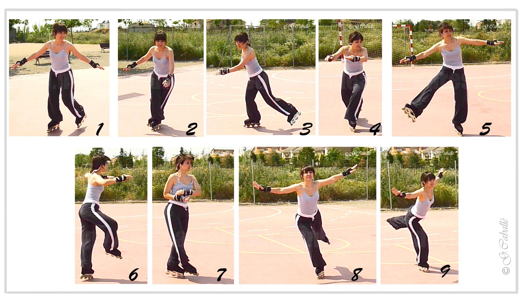 Como patinar patinaje art stico en linea for Como se hace el marmol